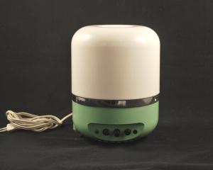 Radiolampada vintage verde