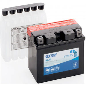 Batteria MOTO EXIDE 6Ah Dx - ETZ7-BS