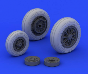F-104 undercarriage wheels late Italeri 2504