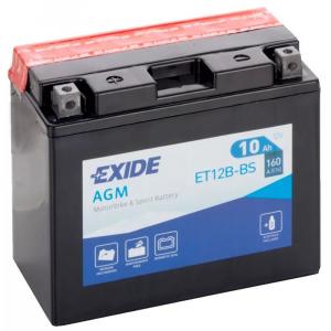 Batteria MOTO EXIDE 10Ah Sx - ET12B-BS