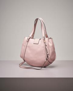 It bag colore rosa con decori gioiello