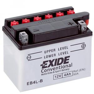 Batteria MOTO EXIDE 4Ah Dx - EB4L-B