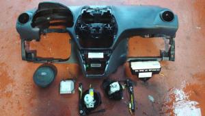 Kit ait bag usato originale Ford Focus serie dal 2008 al 2011 1.6 TDCI