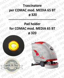 Trascinatore per lavapavimenti COMAC mod. MEDIA 65 BT