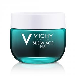 Vichy Slow Age  Notte crema fresca e maschera riossigenante e rigenerante tutti i tipi di pelle