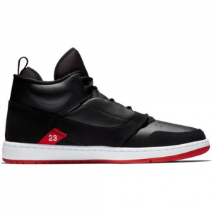 SNEAKERS JORDAN FADEAWAY BLACK/RED AO1329-023