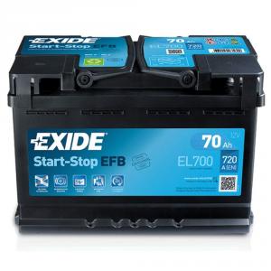 Batteria EXIDE 70Ah Dx - EL700