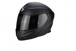 CASCO MOTO MODULARE SCORPION EXO-920 SOLID BLACK MATT