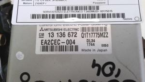 Servosterzo elettronico usato originale Opel Corsa serie dal 2000 al 2006 1.0 12V