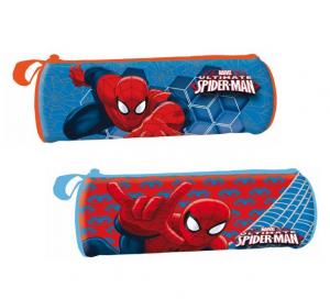 ASTRO Saccucciolo Cilindrico 23 Cms Spiderman Astuccio Scuola Cartoleria 529