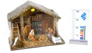 EUROMARCHI Capanna In Termoretraibile Capanna Presepe Natale Regalo 898