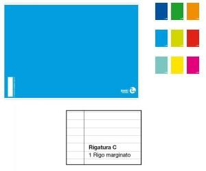 BM Quaderno Maxi A4 Rigatura 0C Righe 4A 5A Elementare E Superiori Quaderno A4 157