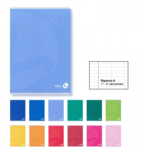 BM Quaderno Maxi A4 Rigatura 0A Righe 1A 2A Elementare Quaderno A4 Maxi Carta 949
