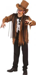 CARNIVAL TOYS Costume Zombie T U M L In Busta C/Gancio Costumi Completo Adulto 553