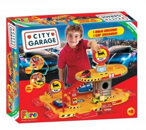 FARO Garage 2 Livelli Con 1 Auto Inc Gioco Macchine Maschio Bimbo Bambino 367