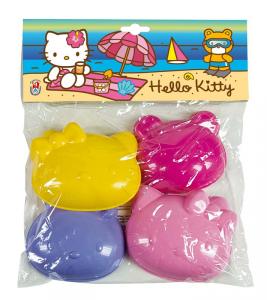 ANDRONI Busta 4 Formine Hello Kitty Forme E Formine Spiaggia Gioco Estivo Estate 157