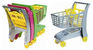 ANDRONI Carrello Spesa Supermercato In Plastica Colori Assortiti Cucina 801