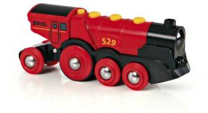 BRIO Grande Locomotiva Rossa A Batterie 119