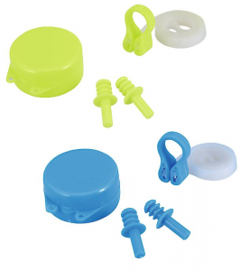 BEST WAY Set Hydro Swim Tappi Orecchie + Clip Naso 2 Colori Assortiti Set Nuoto 278