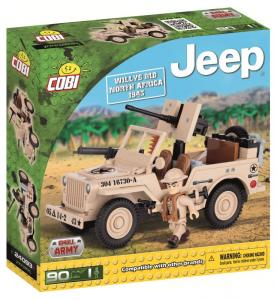 COBI 90 Pcs Jeep /24093/ Willys Mb North Africa 1943 Costruzioni Piccole Gioco 947