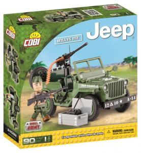 COBI 90 Pcs Jeep /24092/ Jeep Willys Mb Costruzioni Piccole Gioco o 680