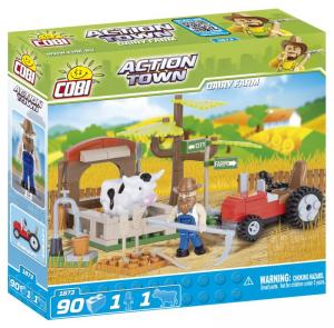 COBI 90 Pcs Action Town/1873/Dairy Farm Costruzioni Piccole Gioco o 294