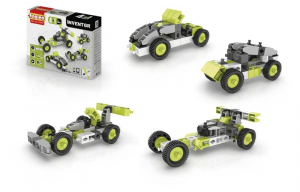 ENGINO Inventor 4 Models Cars Costruzioni Piccole Gioco Bambino Bambina 624