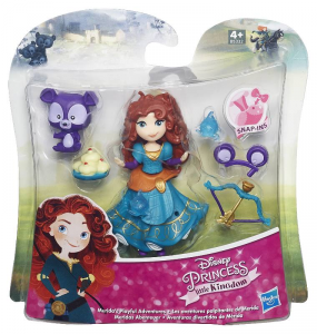HASBRO Disney Princess Small Doll & Friends Mini Bambola Gioco Femmina Bambina 406