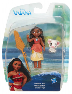 HASBRO Vaiana Small Doll Assortito Disney Princess Vaiana C0142Eu4 Mini Bambola 259