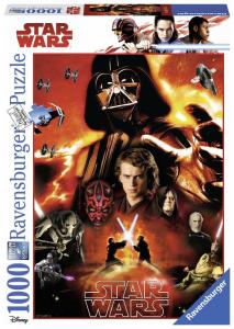 RAVENSBURGER Puzzle 1000 Pezzi Disney Star Wars F 917