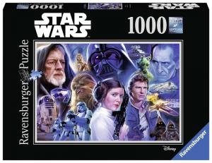 RAVENSBURGER Puzzle 1000 Pezzi Disney Star Wars A 383