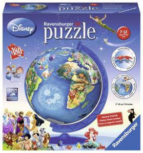 RAVENSBURGER Puzzleball Disney 3D Globo Puzzeleball 3D Puzzle Giocattolo 763