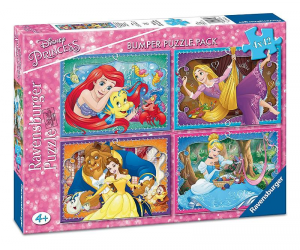 RAVENSBURGER Puzzle 4X42 Pezzi Princesse Disney 998