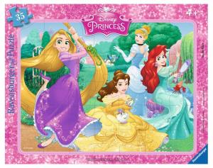 RAVENSBURGER Puzzle Incorniciati Principesse Disney 35Pezzi Incorniciati 469