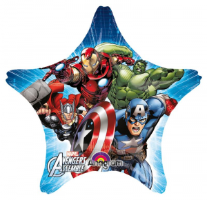 ANAGRAM Pallone Assemble Star Avengers 40 Foil Palloncini Party E Carnevale 535