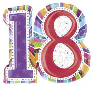 ANAGRAM Palloncini Mylar Supershape Radiant Birthday Palloncini Party 376