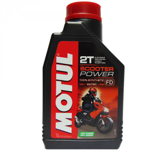OLIO MOTORE MOTUL SCOOTER POWER 100% SINTETICO 2T 1L