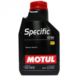 OLIO MOTORE MOTUL SPECIFIC 0720 SAE 5W30 100% SINTETICO 1L
