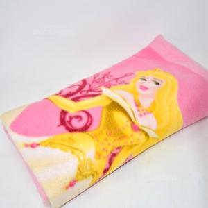 Coperta Pile Disney Rosa  Principesse