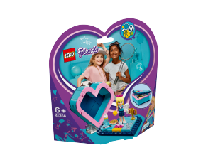 LEGO FRIENDS SCATOLA DEL CUORE DI STEPHANIE 41356