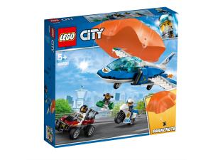 LEGO ARRESTO CON IL PARACADUTE DELLA POLIZIA AEREA 60208
