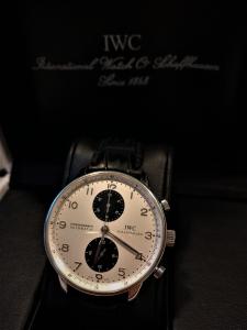 Orologio secondo polso Iwc Portoguese Chronograph Rattrappante