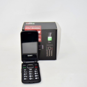 Cellulare Saiet Facile Flip Con Garanzia E Whatsapp