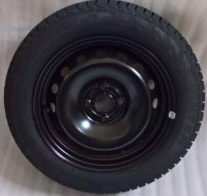 Ruota con pneumatico invernale Pirelli 175/65R15 84T  Fiat Punto
