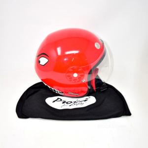 Casco Moto Kevlar Mix Bimbi Tgxxs/52 Rosso (5 Anni)