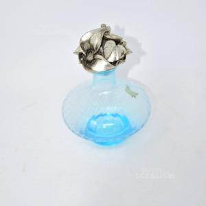 Vaso Azzurro Con Tappo I