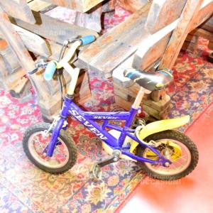 Bicicletta Seven Blu Bambino