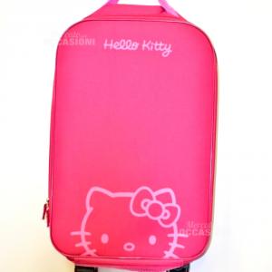 Trolley Fuxia Hello Kitty