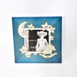 Portafoto Silver Plated Luna/ Stelle