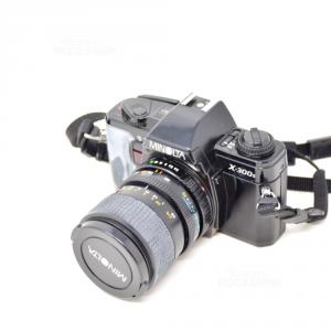 Macchina Fotografica Minolta  X-300s Con Flash